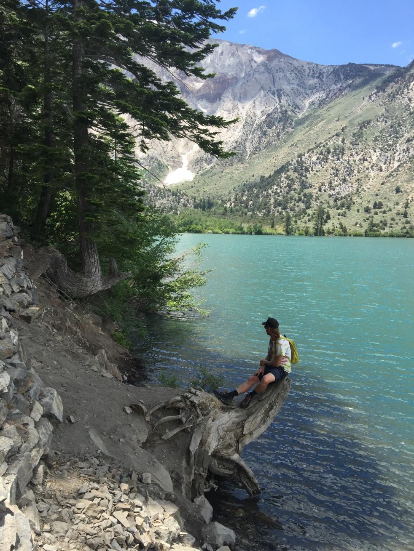 Justin at Convict Lake