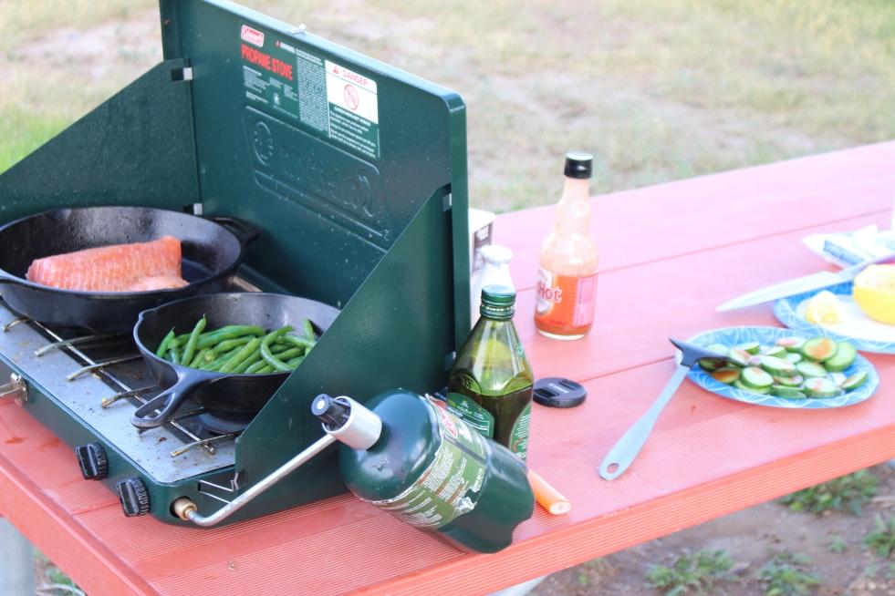 Dinner in the park