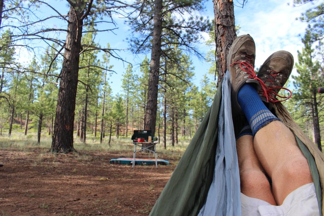 Chillin in the hammock