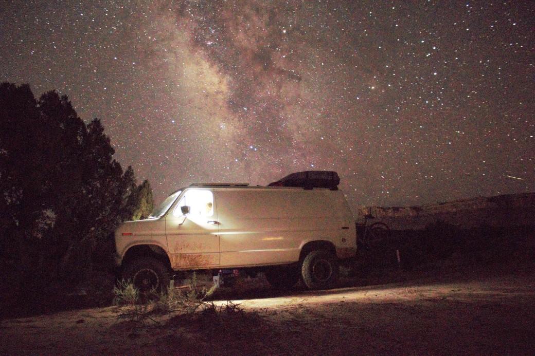 Milky Way van